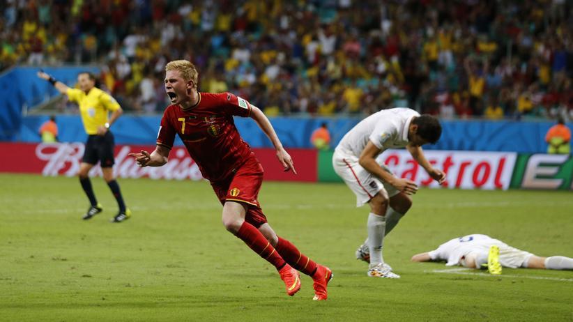 Fußball-WM: Belgien beendet amerikanischen Traum