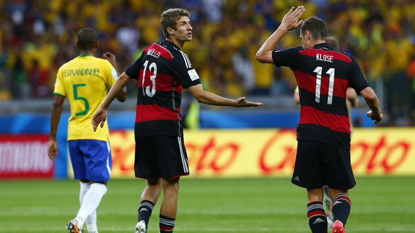 Brasilien gegen Deutschland: Ein Spiel für die Ewigkeit