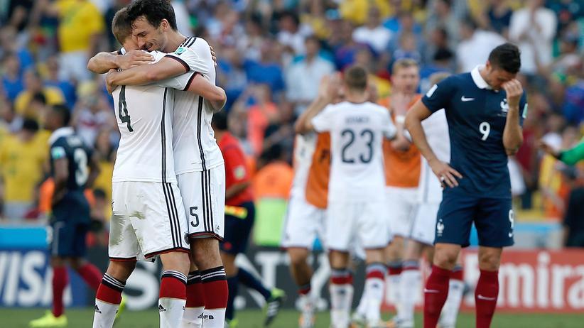 Deutschland gegen Frankreich live: Deutschland siegt und steht im Halbfinale