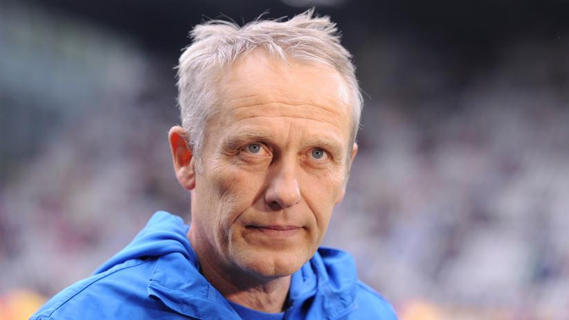 Der Trainer des SC Freiburg, Christian Streich