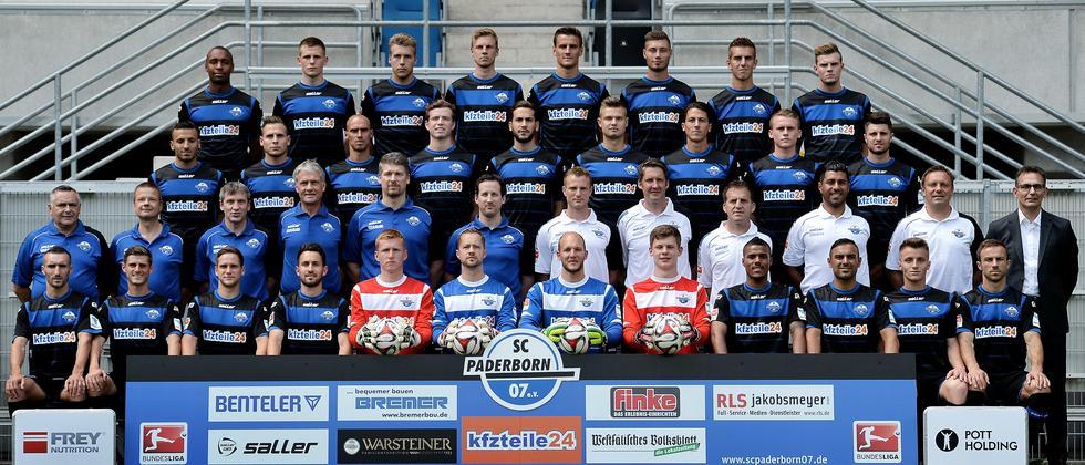 Die Mannschaft des SC Paderborn