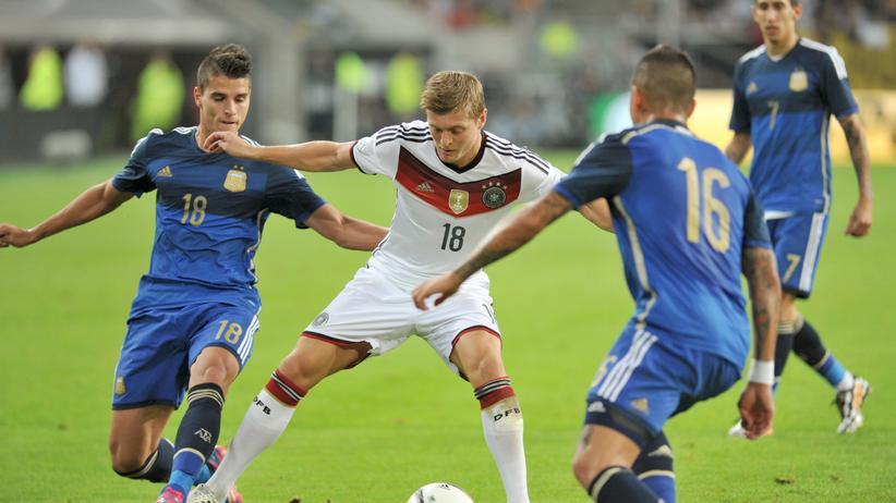 Deutschland – Argentinien 2:4: Das Restesaufen der Weltmeister