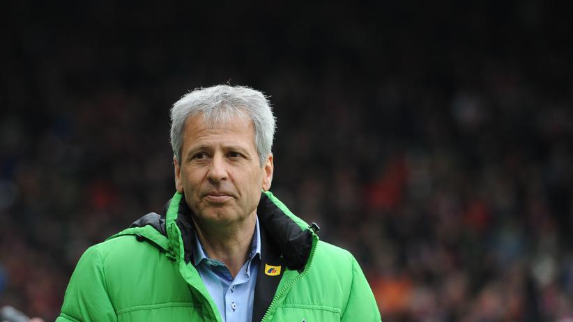 Gladbachs Trainer Lucien Favre