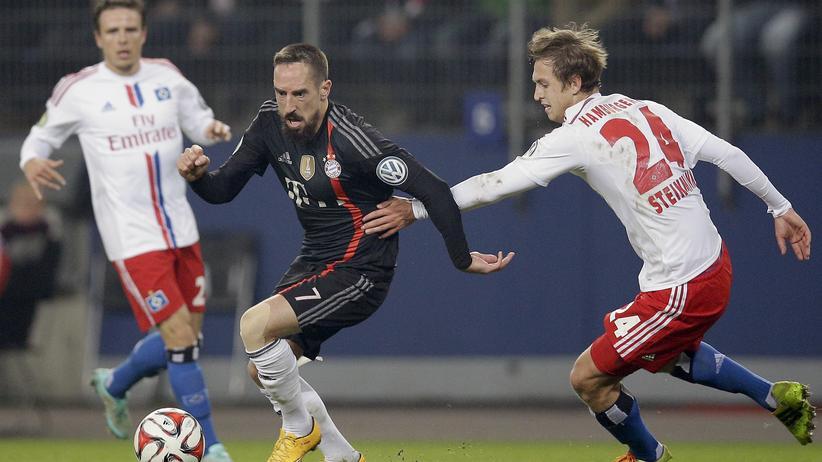 FC Bayern München Hamburger SV Franck Ribery