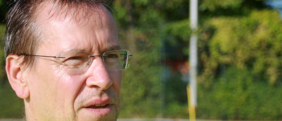 Der Amateurschiedsrichter Gerald Bothe