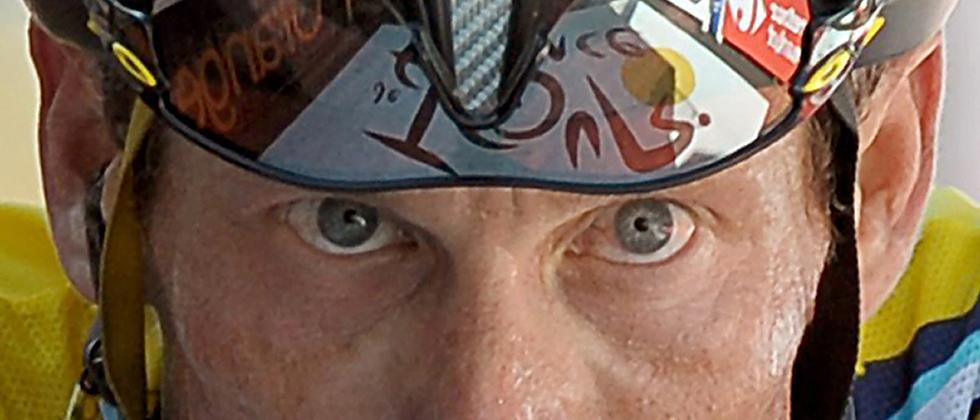 Lance Armstrong während der Tour de France 2009