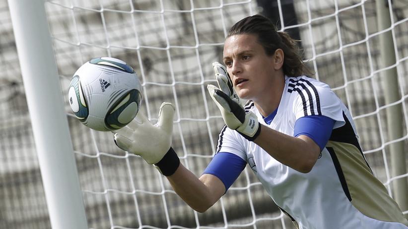 Fußball-WM: Die deutsche Fußballerin Nadine Angerer