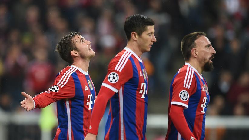 Champions League: Bayern entspannt im Achtelfinale, Schalke verspielt Vorsprung