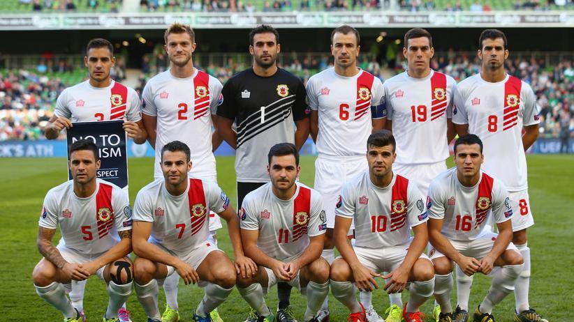 Das Nationalteam von Gibraltar