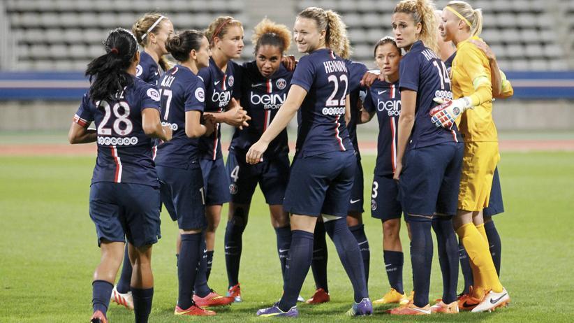 """Paris St. Germain: """"Jede Spielerin hat einen Bleistift in die Hand bekommen"""""""