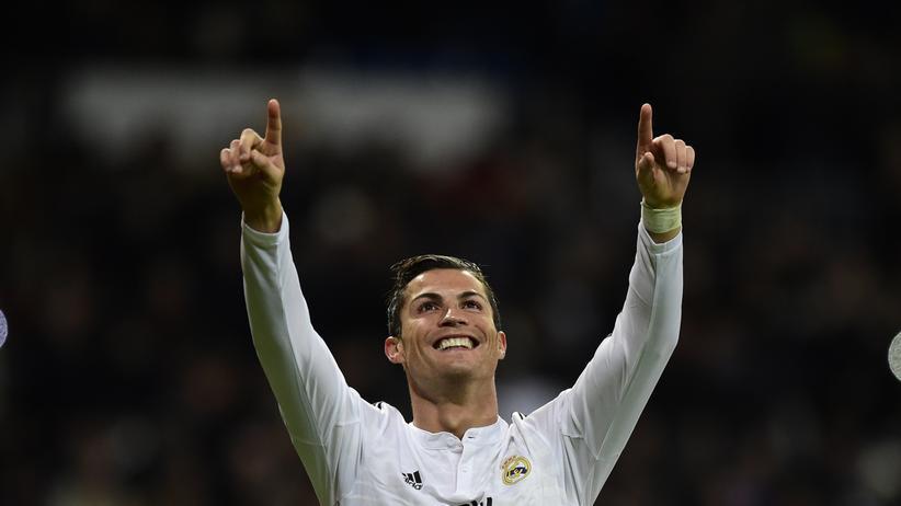 Sah man öfter in 2014: Einen jubelnden Ronaldo
