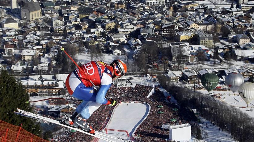 Sport, Skisport, Wintersport, Ski, Kitzbühel, Toni Sailer