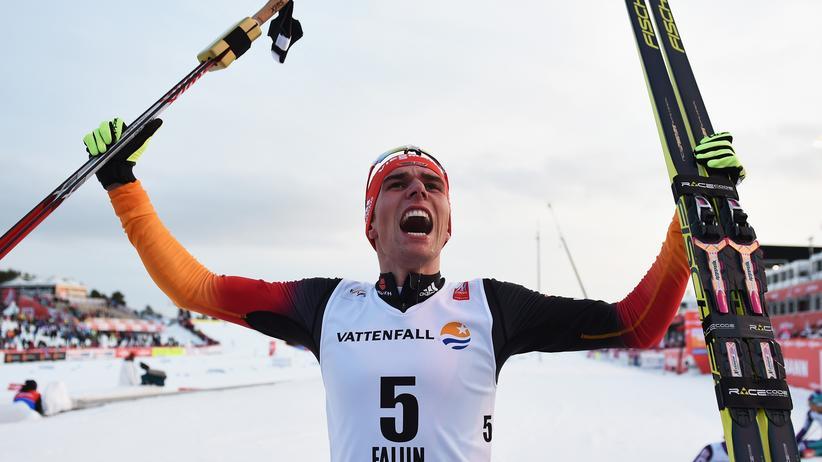 Weltmeister Johannes Rydzek in Falun