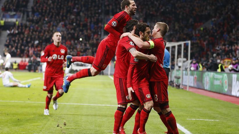 Champions League: Leverkusen feiert knappen Sieg gegen Atlético