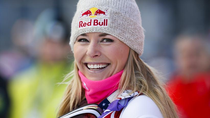 Die Skiläuferin Lindsey Vonn