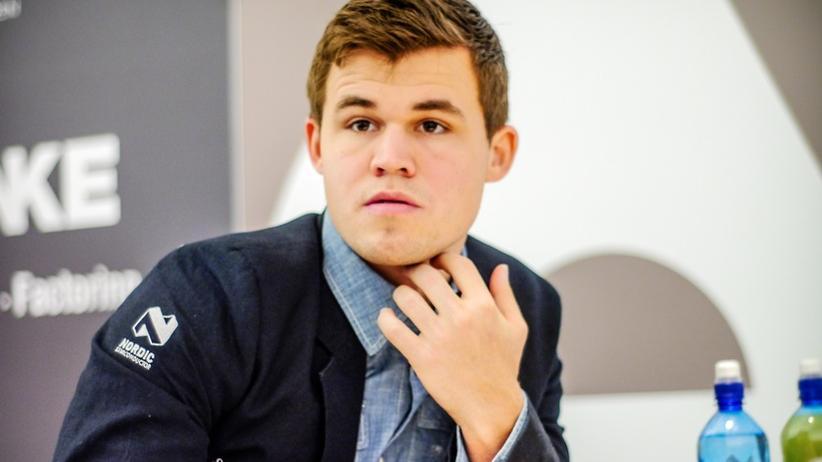 Magnus Carlsen in Baden-Baden