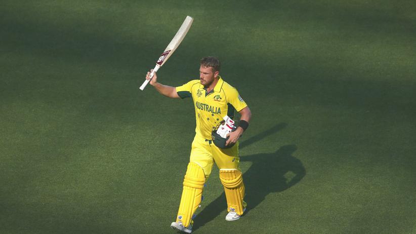 Der australische Cricketspieler Aaron Finch