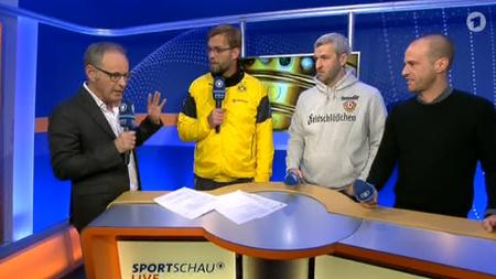 Klopp Scholl Beckmann Die Sportschau In Der Dopingprobe Zeit Online