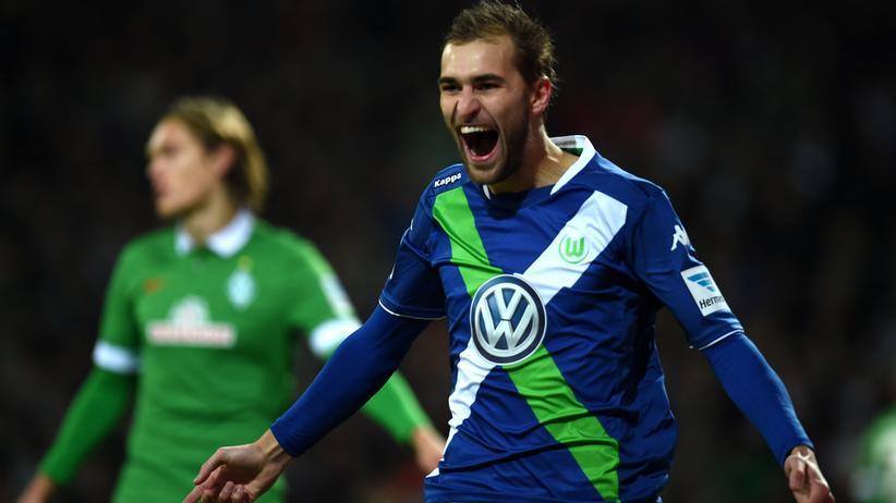 Fußball-Bundesliga: Wolfsburg trifft fünf Mal gegen Werder