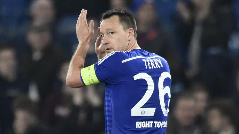 John Terry, Kapitän des auch ausgeschiedenen FC Chelsea