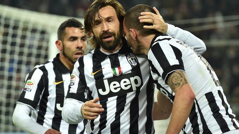 Juventus Turin um den verletzten Altmeister Andrea Pirlo