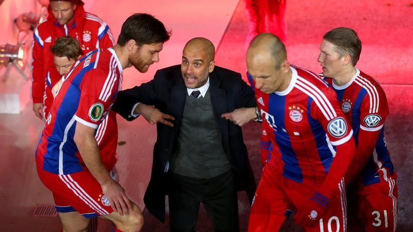 Champions League: Abweichungen vom Pep-Standard