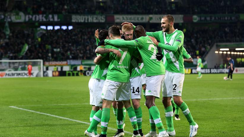 Europa League: Wolfsburg siegt gegen Inter Mailand