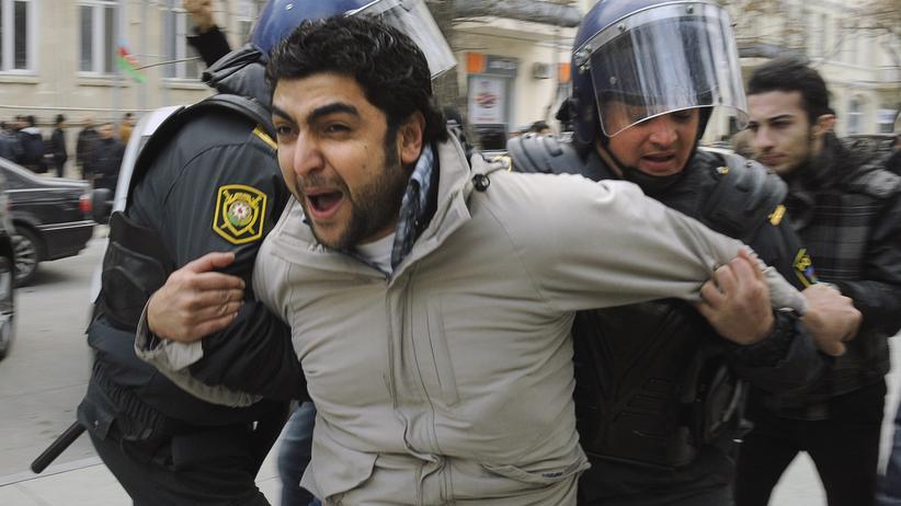 Europaspiele Baku Proteste