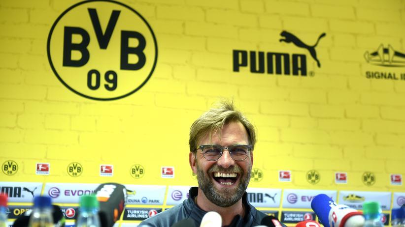 Jürgen Klopp kann wieder lachen