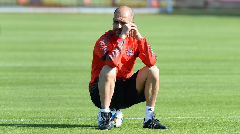 Der Bayern-Trainer Pep Guardiola