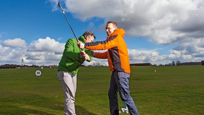Golf spielen: Operation Platzreife