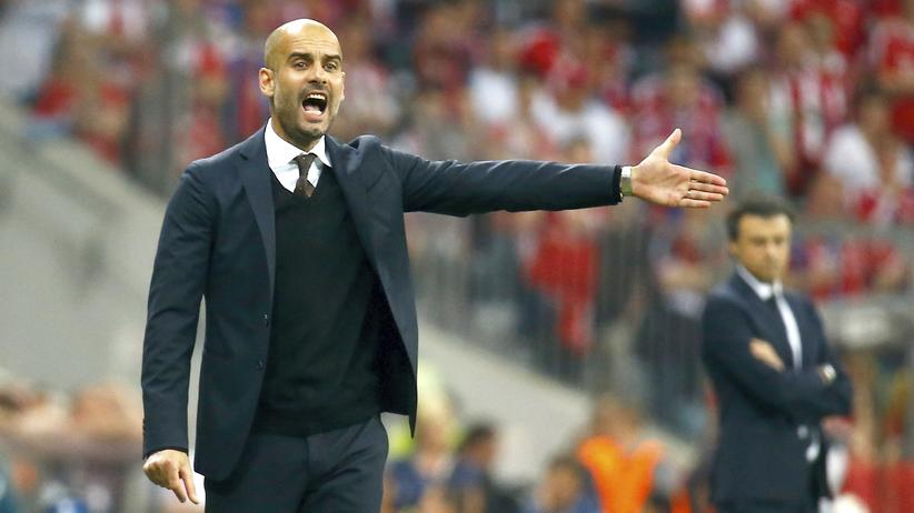 Bayerns Trainer Pep Guardiola