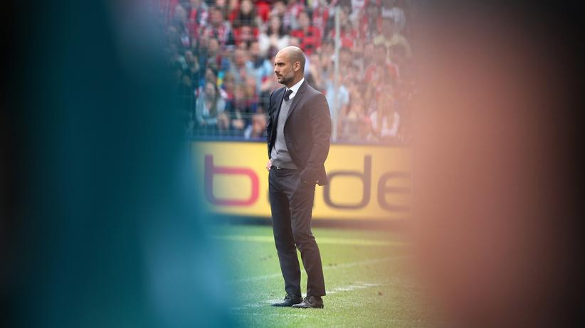 Bayerns Trainer Pep Guardiola
