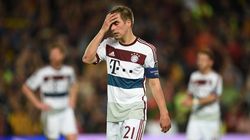 Champions League: Philipp Lahm nach der Niederlage in Barcelona