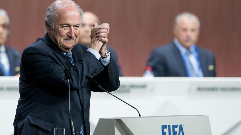 Fifa-Wahl: Sepp Blatter bleibt Fifa-Präsident.
