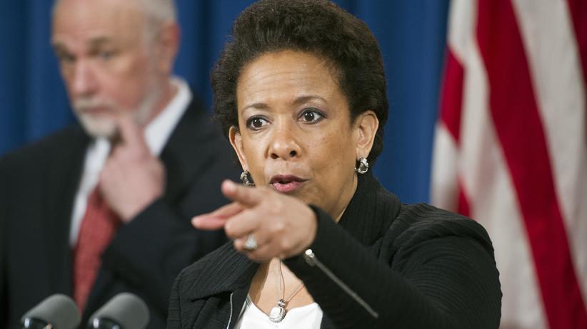 Loretta Lynch: US-Justizministerin Loretta Lynch hat die Fifa-Ermittlungen in Gang gebracht.