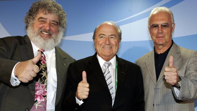 Fifa: Chuck Blazer, Sepp Blatter und Franz Beckenbauer