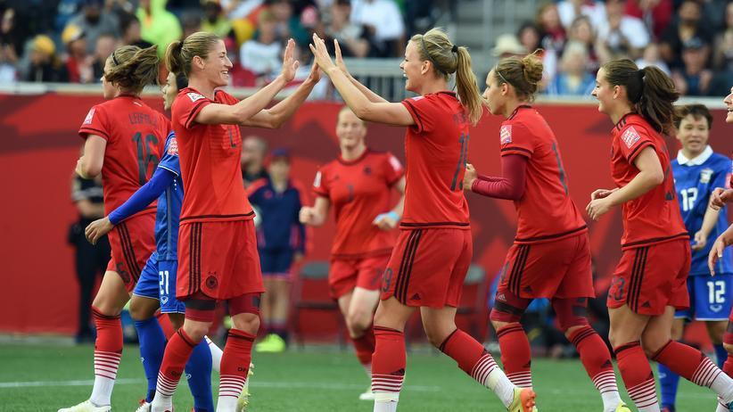Deutschland Thailand Frauenfußball-WM