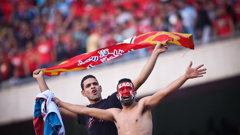 Fans von Al-Ahly in Kairo