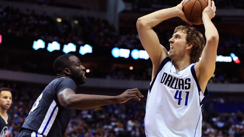 Dirk Nowitzki spielt in der NBA für die Dallas Mavericks.