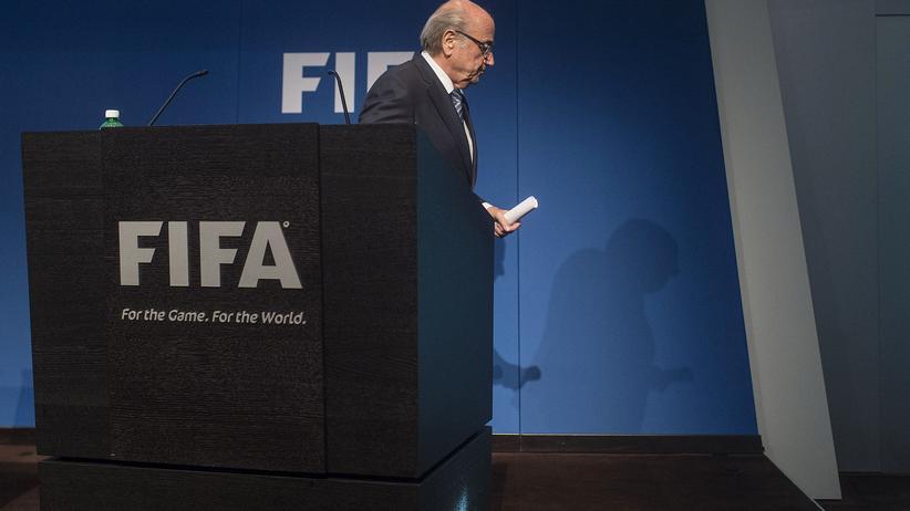 Der bald ehemalige Fifa-Präsident Sepp Blatter