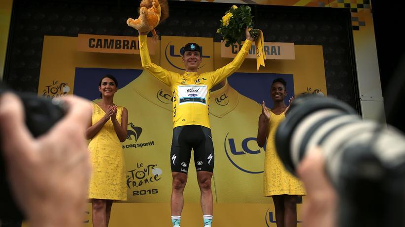 Gelb, ja gelb sind alle seine Kleider: Tony Martin