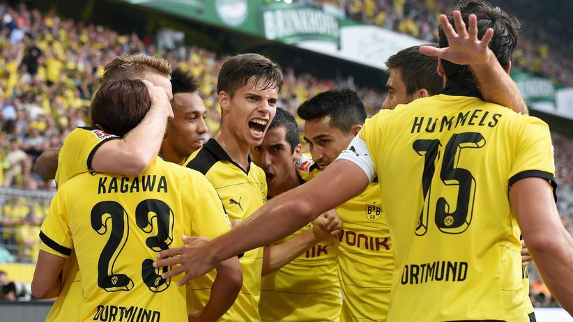 Sieht alles etwas leichter aus: Dortmund freut sich