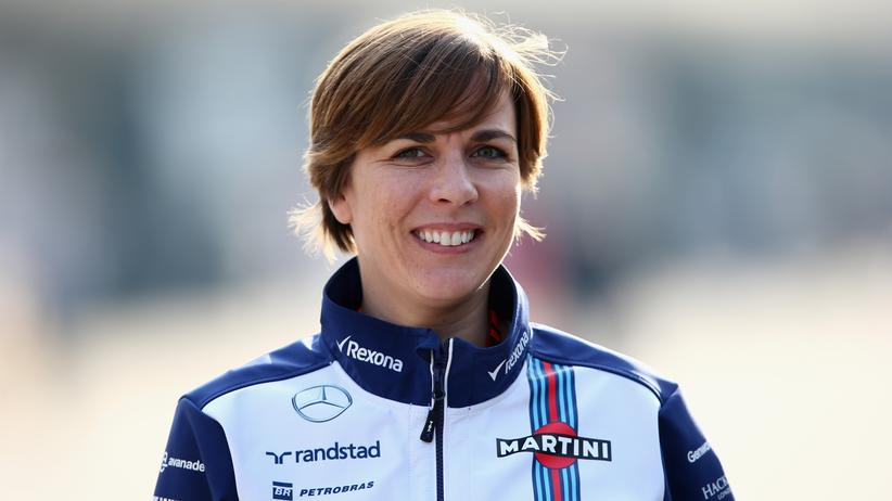 Sport, Frauen in der Formel 1, Formel 1, Claire Williams, Cindy Crawford, Motorsport, Unilever, Monaco, Williams