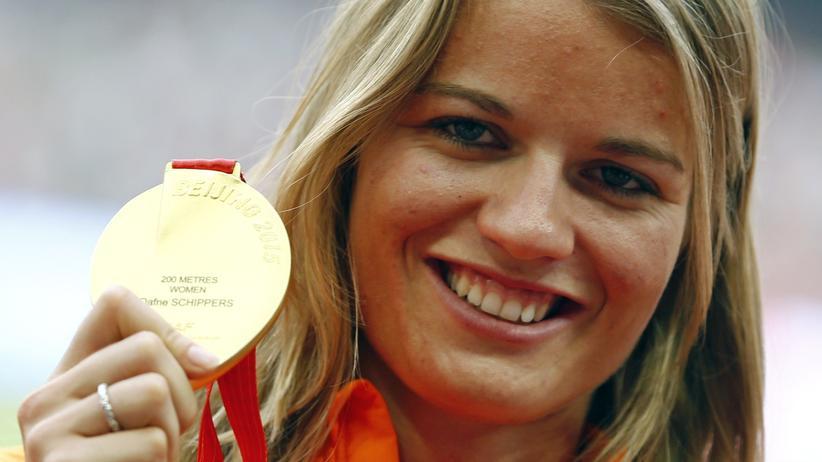 Dafne Schippers Leichtathletik WM Gold