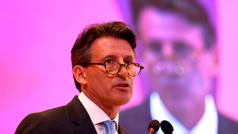 IAAF: Sebastian Coe, der neue Präsident des Leichtathletik-Weltverbandes