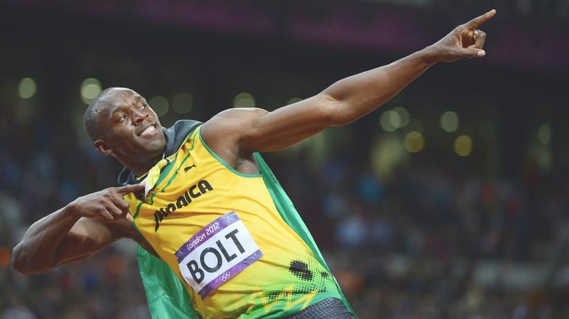 Sauber oder nicht? Der Übersprinter Usain Bolt nach seinem 100-Meter-Olympiasieg 2012
