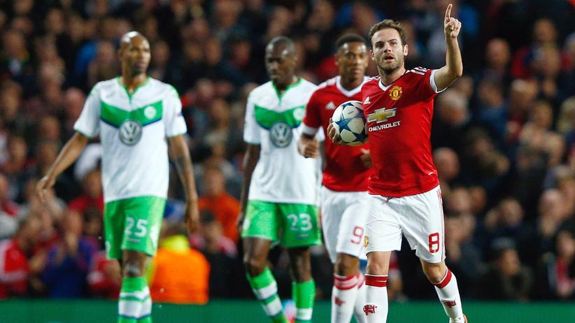Champions League: Wolfsburg und Gladbach verlieren gegen Manchester