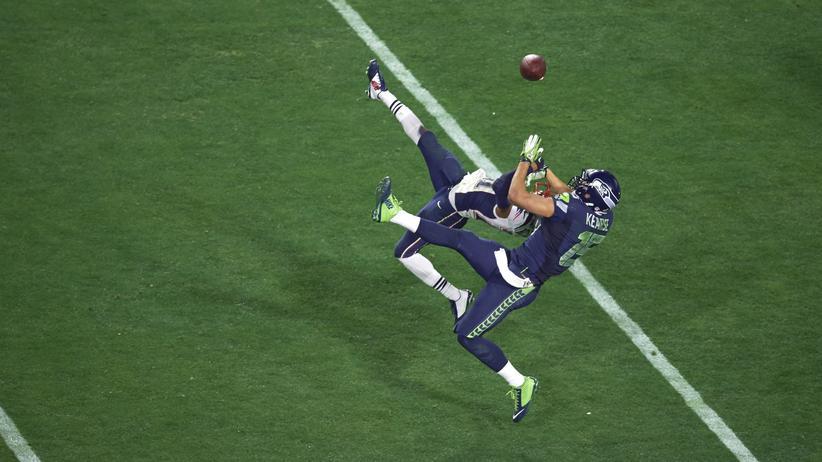 NFL: Eine Szene aus dem Super Bowl 2015