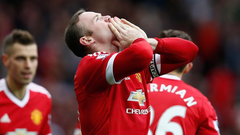 Wayne Rooney kann da auch nichts machen